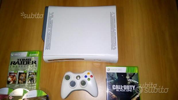Xbox 360 64 GB Senza Modifica Originale 7 Giochi