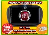 AutoRadio FIAT 500X | Octacore RAM 4GB 64GB ROM