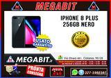 Iphone 8 plus 256gb GRADO A nero con garanzia