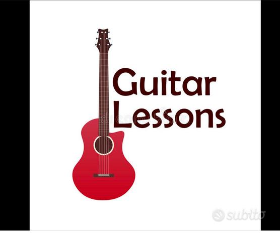 Lezioni chitarra/basso/12 a domicilio