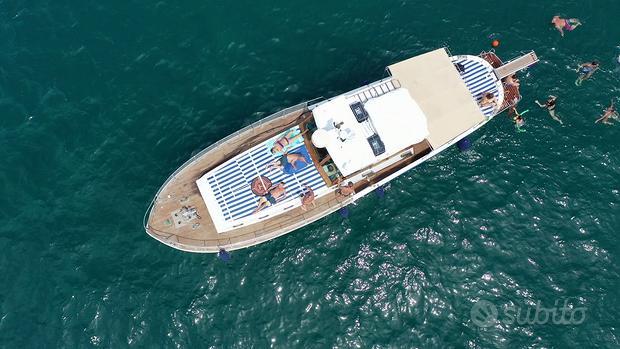 Imbarcazione 14 mt in legno