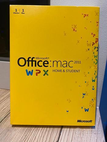 Microsoft Office 2011 per mac