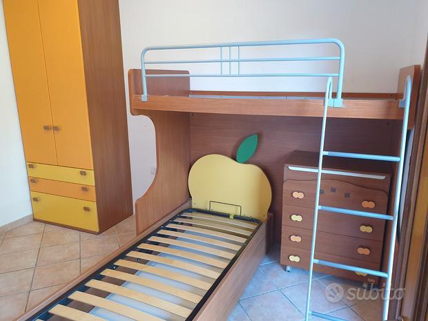 Cameretta camera ponte bambini colombini