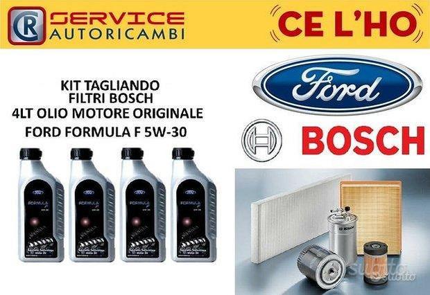 Kit tagliando bosch ford focus 1.6 tdci 90cv 66kw