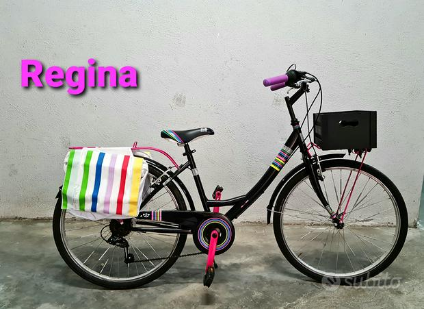 Bici ragazza Regina italiana 24