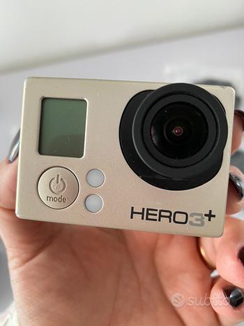 GoPro Hero 3+ silver funzionante con accessori