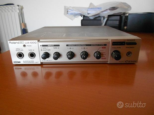 Roland effetti audio midi musica