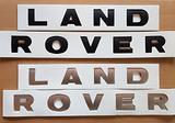 Scritte logo auto LAND ROVER