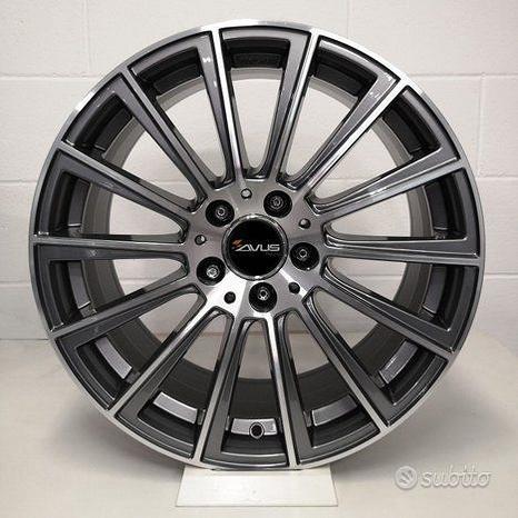 """Cerchi in lega AVUS da 18"""" per Mercedes, Audi"""