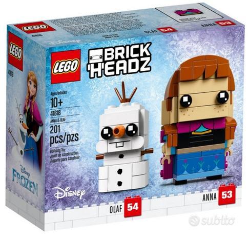 Lego 41618 - brickheadz anna e olaf disney