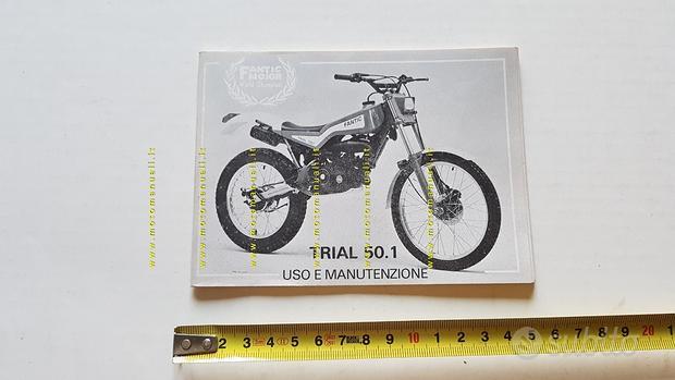 Fantic Motor Trial 50.1 1986 manuale uso originale