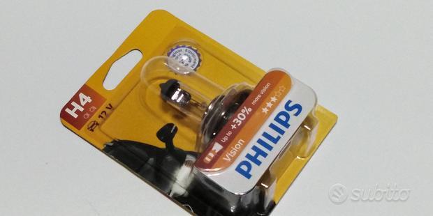 Lampada fari auto moto Philips h4 vision