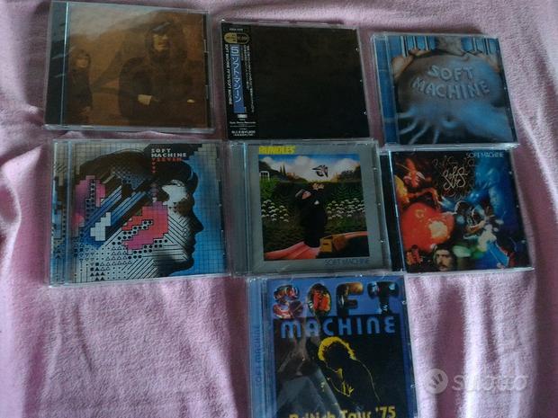 Soft Machine 7cd originali, rari, perfetti