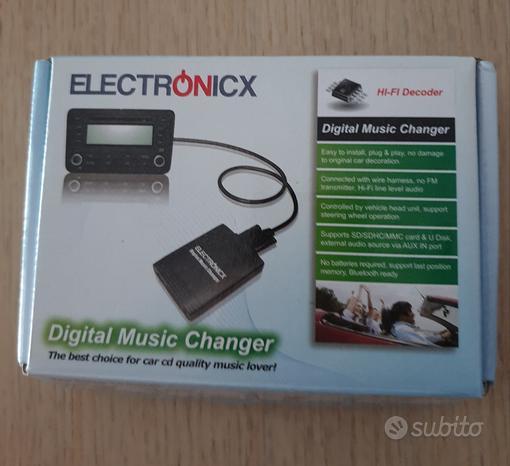 Interfaccia USB+AUX
