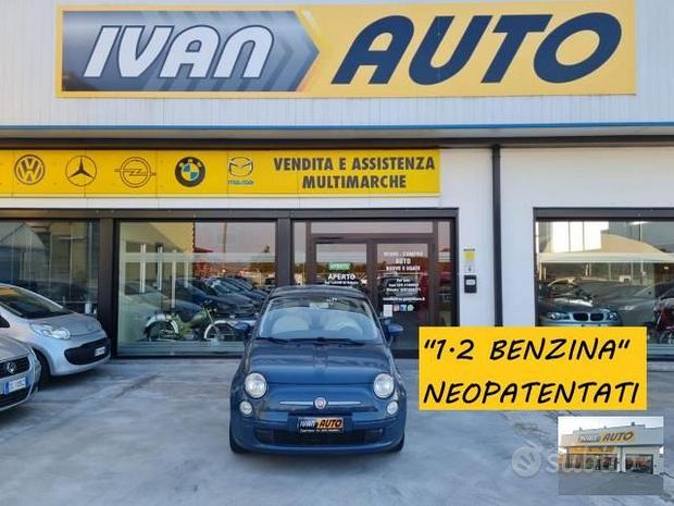 Fiat 500 1.2 benzina-neopatentati-anno 2008