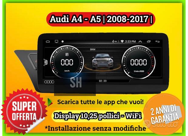 Car tablet navigatore AUDI A4 | A5 | 2008-2017