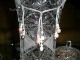 Parure argento 925 perle colorate multi color