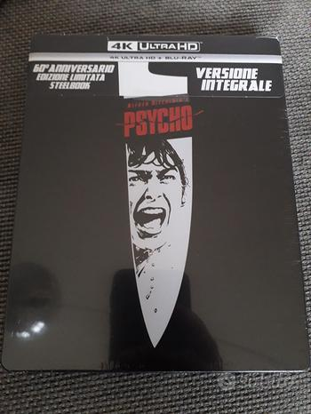 Psycho 4K UltraHD dvd steelbook 60 anniversari