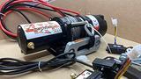 Verricello 3500 lb cavo sintetico Motore: 12V DC 1