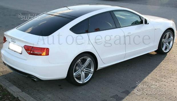 Audi a5 2007+ minigonne laterali sline in abs