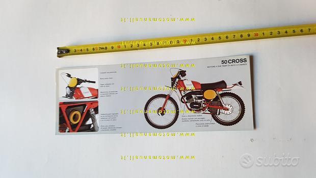 Benelli 50 Cross 1980 depliant brochure originale