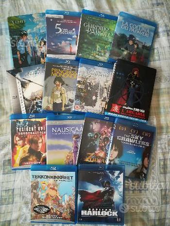 Collezione Anime Cartoni Giapponesi Blu-ray e DVD
