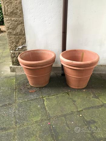 Vasi da giardino terrazzo in terracotta