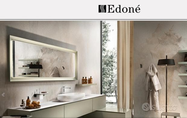 Specchiera bagno Edoné rettangolare