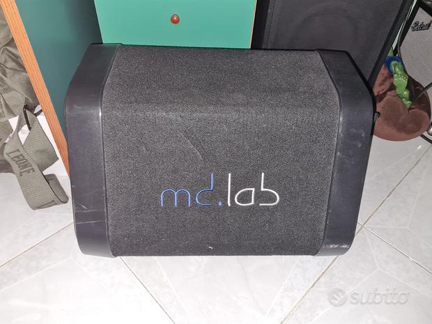 Subwoofer md.lab 300w preamplificato
