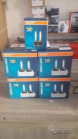 2 lampade D1S D2S D3S D4S 6000K +50% DI LUMINOSIT