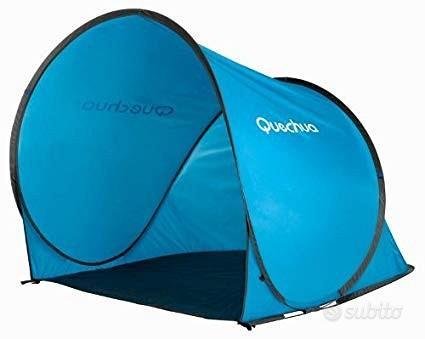 Tende 2 seconds Quechua da spiaggia e campeggio