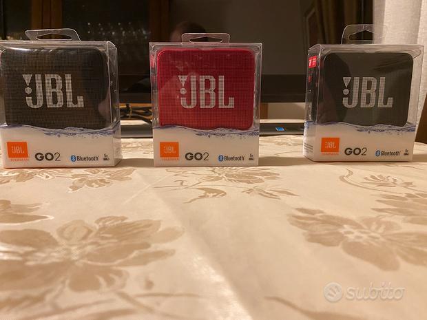 JBL GO 2 altoparlante bluetooth vivavoce