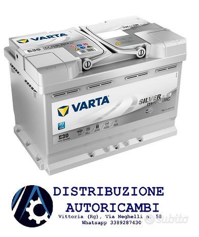 BATTERIA AUTO VARTA 70Ah 12V 760A E39 AGM Start&St