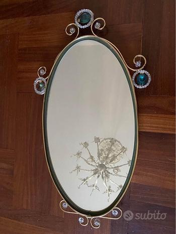 Specchio ovale 45x25 cm