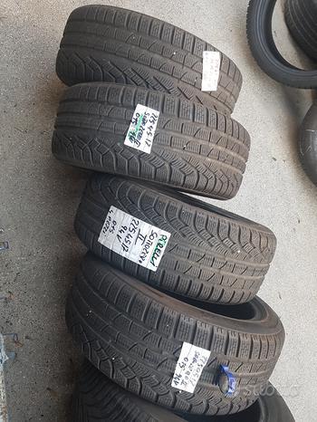 Gomme usate winter 225/45-17 semi nuove Pirelli