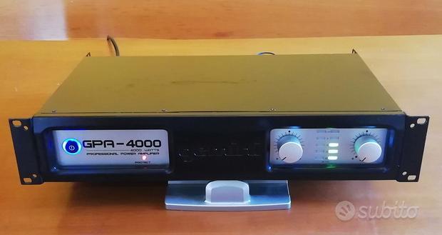 Amplificatore gemini gpa 4000