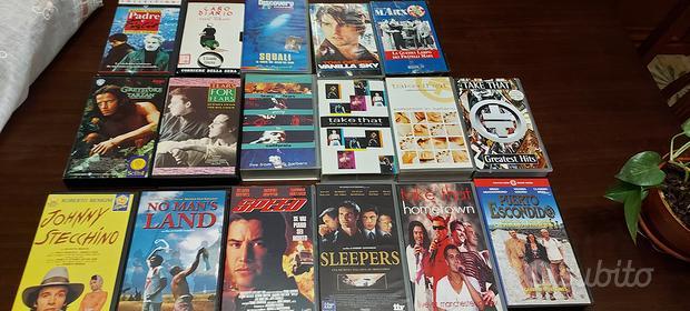 Vhs film e video band anni'80-'90