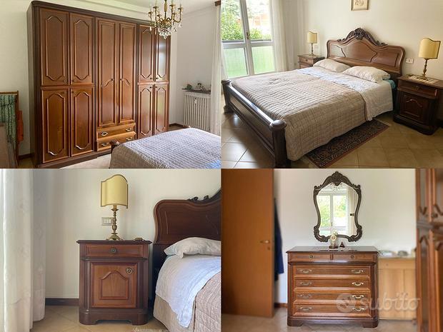 Camera completa - Armadio, comò, letto, comodini