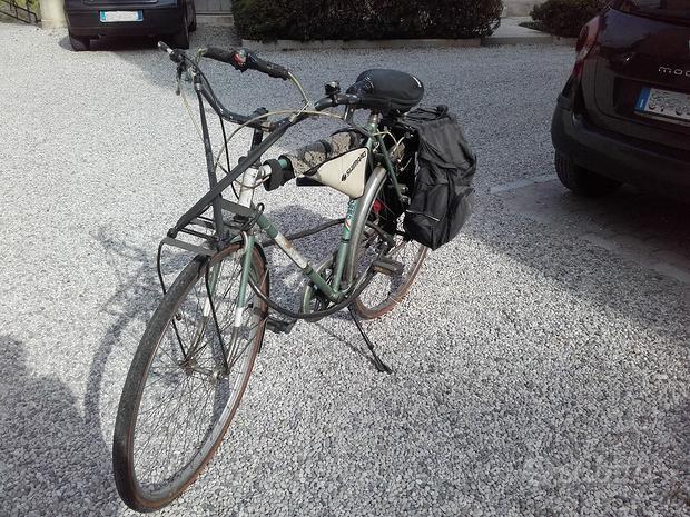 """Bici uomo da 28"""" con borse"""