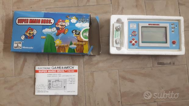 Game & watch nintendo super mario bros ym-105 1988