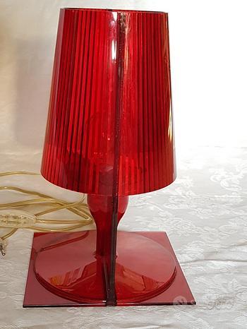 Kartell, Take (rosso) Lampada originale