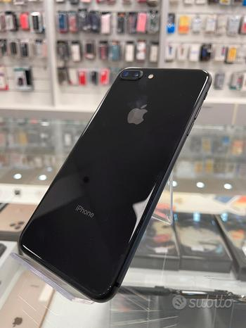 Iphone 8 plus 64gb nero usato garanzia 12 mesi