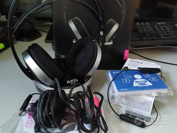 Cuffie Wireless/Bluetooth AKG K915 & Sony WI-C300