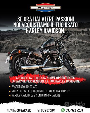 Acquistiamo Harley Davidson