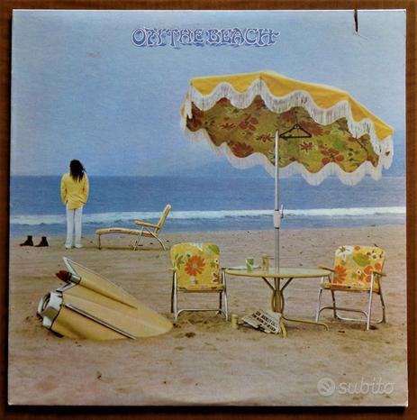 Vinile originale di Neil Young: On The Beach