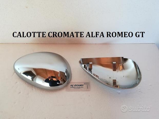 Coppia calotte Cromate Alfa romeo GT