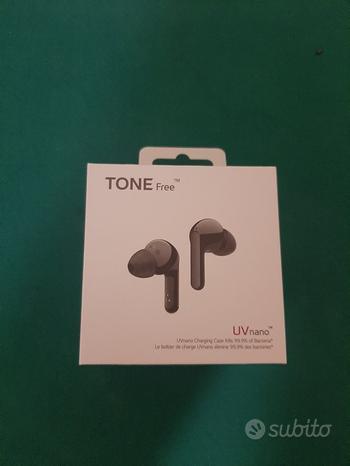 LG TONE Free FN7 Black Cuffie Bluetooth