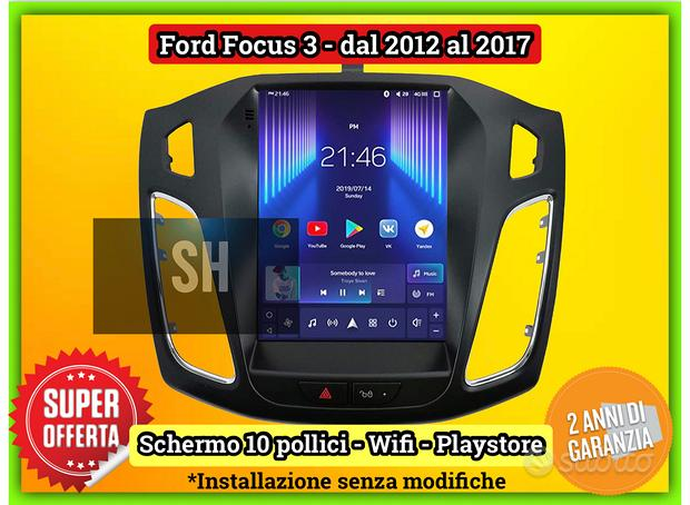 Monitor 10 pollici verticale Ford Focus 2012-2017