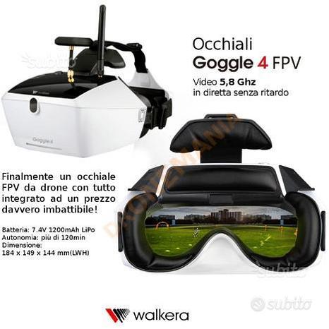 Occhiali per drone 5,8Ghz Walkera Goggle4 FPV