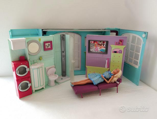 Casa di Barbie vintage 2007 Mattel e bambola